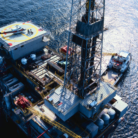 Oil Exploration Rig
